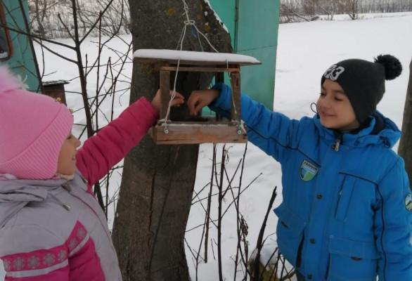 Экологическая акция «Покормите птиц зимой!».