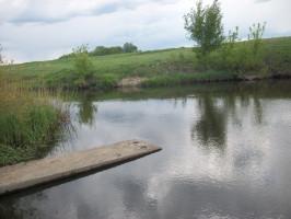 Заседание экологического клуба «Муравей» на берегу реки Битюг