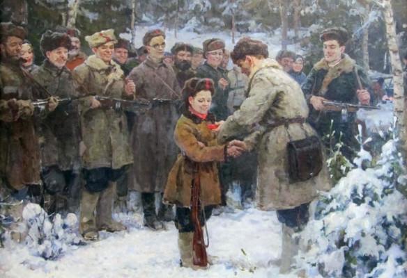 Онлайн-альманах  «Дети и война. Истории картин»