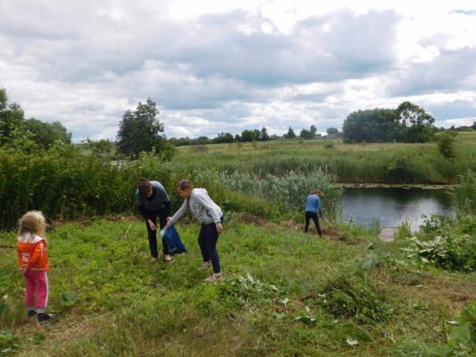 Члены клуба «Читайка» приняли участие  в областной экологической акции «День малых рек»