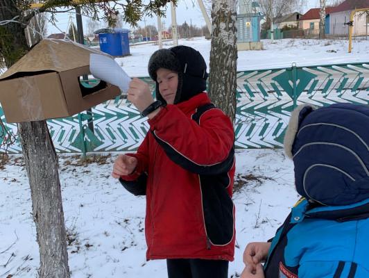 Экологический час «Покормите птиц зимой»