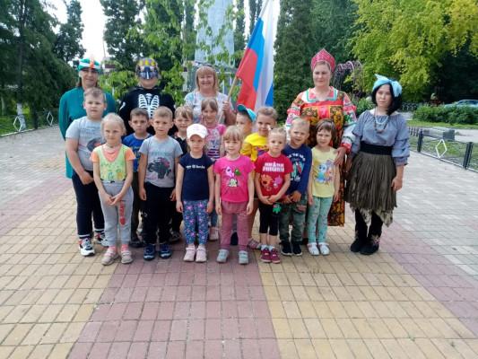 Квест-игра «В поисках символа России»