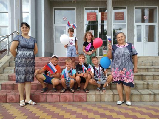 Патриотический полдник «День флага России»