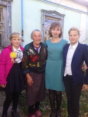 Акция «Поздравление Ветерану педагогического труда»