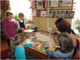 Неделя детской книги в Нижнематрёнской библиотеке
