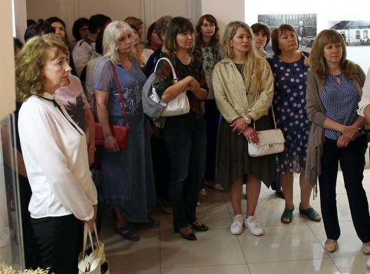 Музей хлеба посетили работники архивов