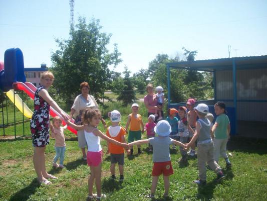 2 июня работники Талицкой библиотеки организовали праздник