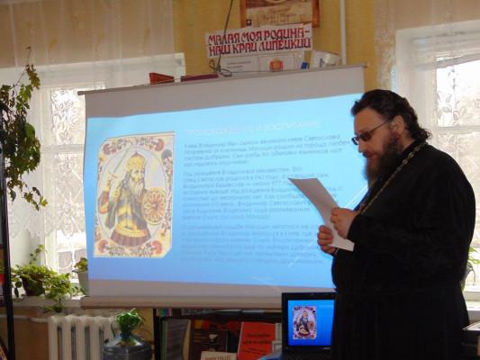 Нижняя Матренка о неделе православной книги