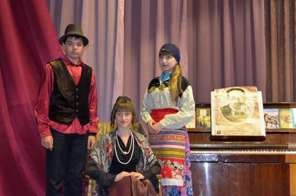 Талицкой сельской библиотеке состоялось открытие «Года литературы»