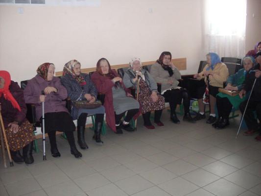 День пожилого человека, в Дубовском сельском поселении