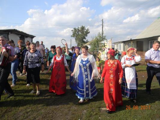 Праздник в деревне Красная Рада