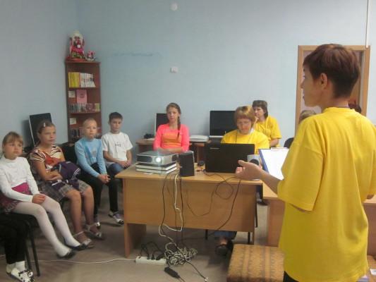 Очередная встреча в рамках проекта «Город солнечных зайчиков»