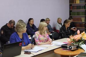 Заседание координационной антинаркотической комиссии  Добринского муниципального района