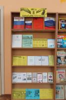 Уголок избирателя в Центральной районной библиотеке в действии