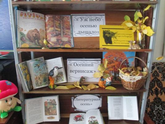 Праздник осени в Лебедянской сельской библиотеке
