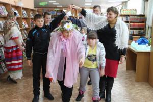 День Широкой Масленицы в детской библиотеке