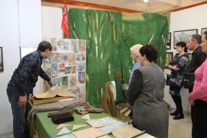 Первые посетители новой выставки