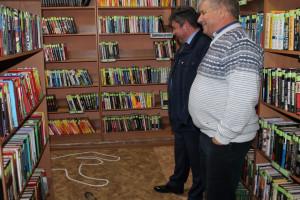 Персональная экскурсия по библиотеке для главы Добринского  района Москворецкого С.П.