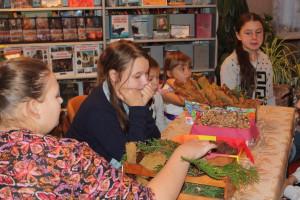 Праздник «Золотая волшебница осень» в Ольховской сельской библиотеке