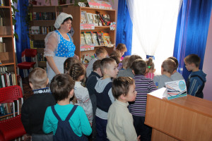 Экскурсия «Библиотека, книжка, я – вместе верные друзья»