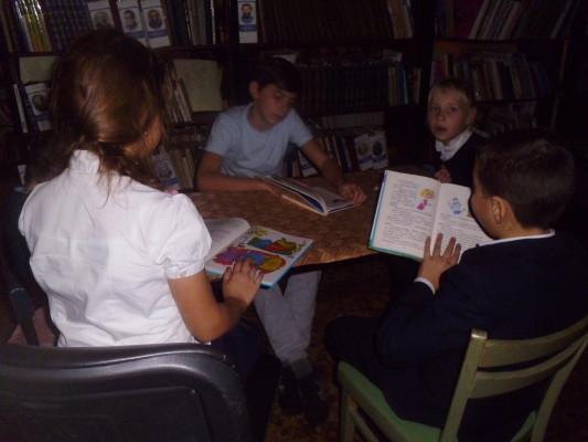 Литературный час «Каникулы в Простоквашино»