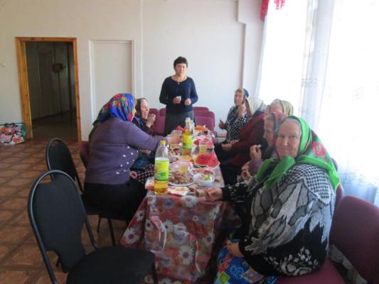 1 октября в Лебедянской сельской библиотеке состоялся праздник,  посвященный Дню пожилых людей.