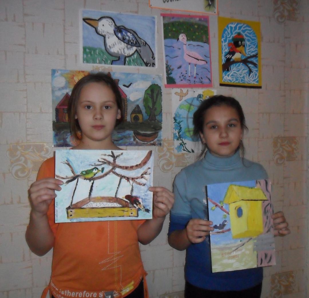 Конкурс рисунков «Апрельский скворец - весны гонец»